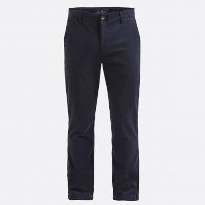 Tummansiniset miesten housut