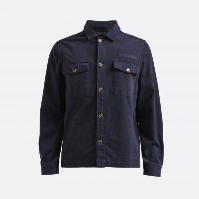 Miesten sininen paitatakki