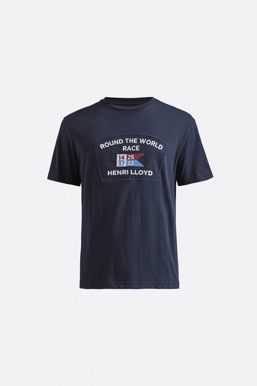 Miesten sininen logo-t-paita