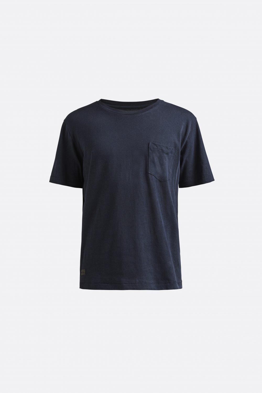 Miesten sininen t-paita