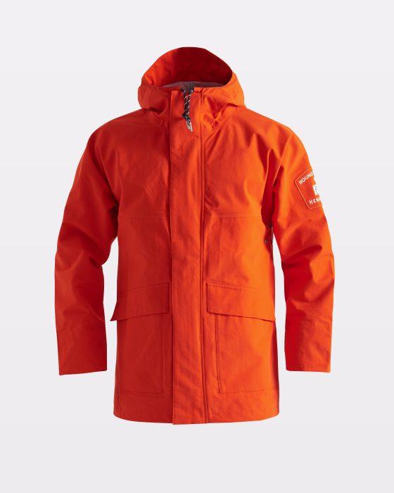 Miesten vettäpitävä oranssi takki