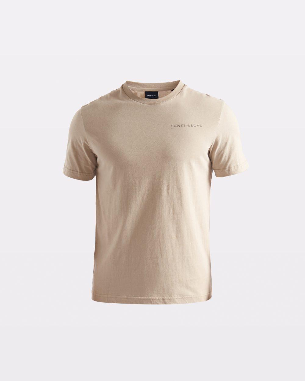 Miesten beige t-paita RWR-logolla