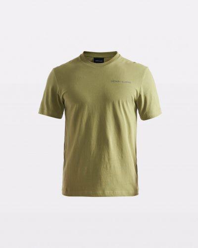 Miesten vihreä t-paita RWR-logolla