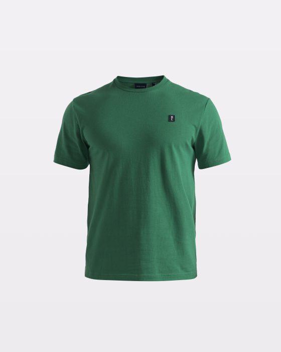 Miesten vihreä perus-t-paita