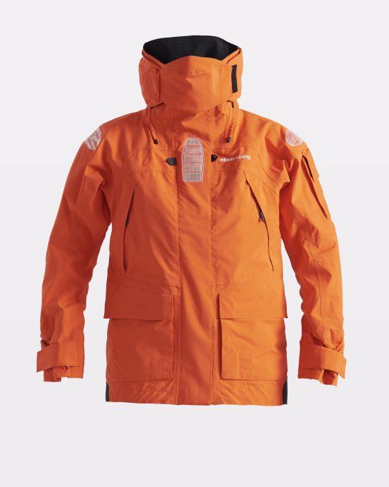 Naisten oranssi gore purjehdustakki