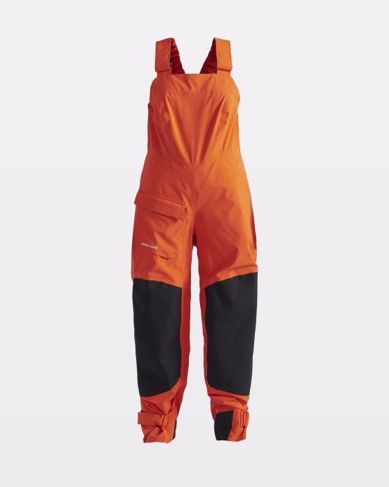 Niasten oranssit gore-tex purjehdushousut